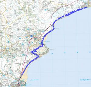 Half Marathon Route