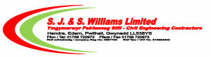 SJ & S Williams Logo
