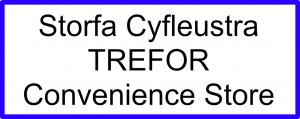Trefor Convenience Store Logo
